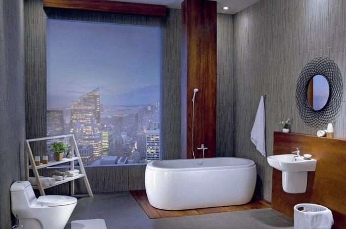 menjaga kebersihan kamar mandi akan mencegah aneka bahaya.