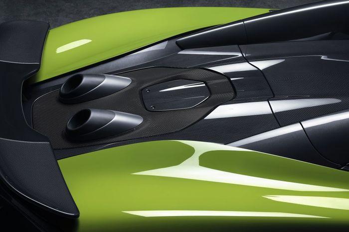 Knalpot McLaren 600LT Spider Muncul Ke Atas