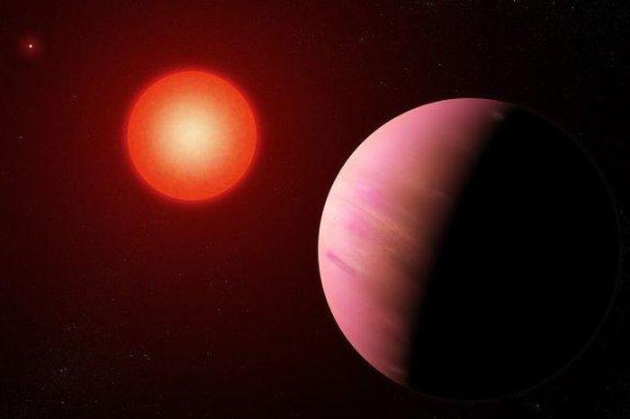 Planet K2-288Bb yang ukurannya dua kali lebih besar dari Bumi.
