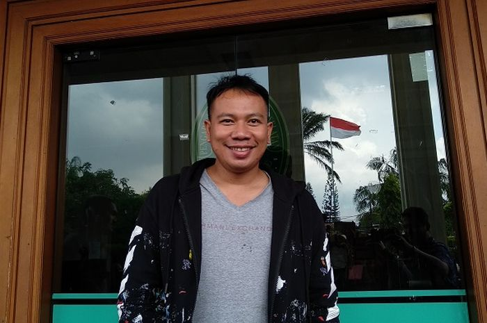 Vicky Prasetyo saat ditemui di Pengadilan Agama Jakarta Selatan, Kamis (10/1/2019).