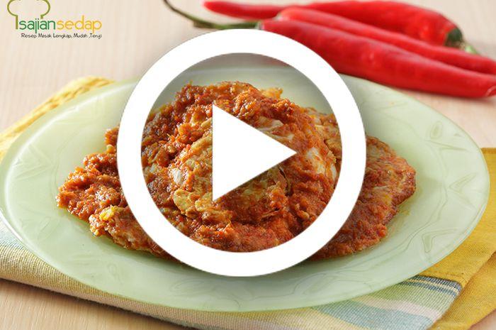 (Video) Resep Masak Telur Ceplok Bumbu Bali, Variasi Telur Ceplok yang Sanggup Menggoyang Lidah Siapapun