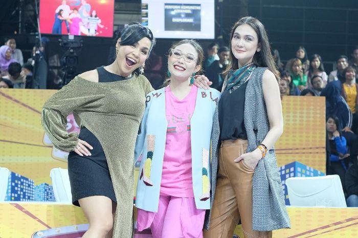 Melaney Ricardo, Ayu Dewi, dan Luna Maya.
