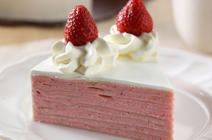 Resep Membuat Strawberry Crepes