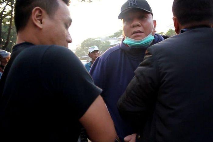 Penangkapan Wisnu Wardhana oleh tim Kejari Surabaya