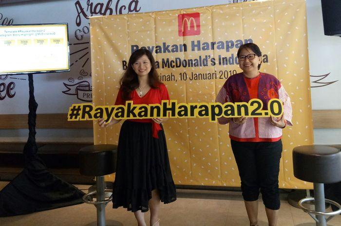 McDonald's Indonesia Ajak Kamu Bikin Harapan Terbaik, Nih 3 Bocoran yang Bakal Diwujudkan Panitia!