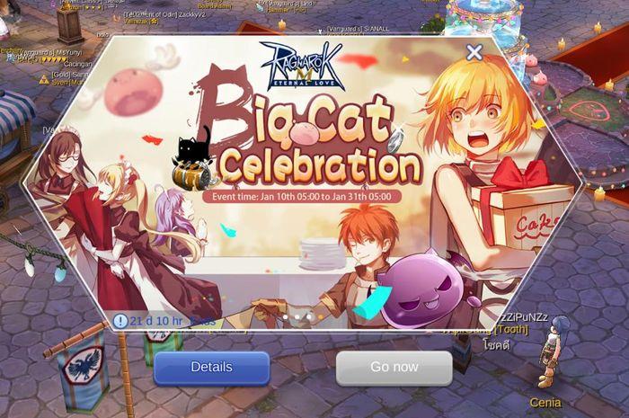 Evento Big Cat Celebration en Ragnarok M