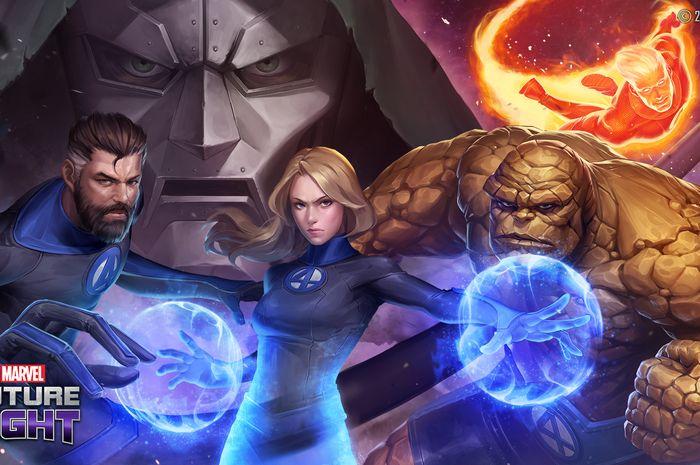Fantastic Four Hadir Di Marvel Future Fight