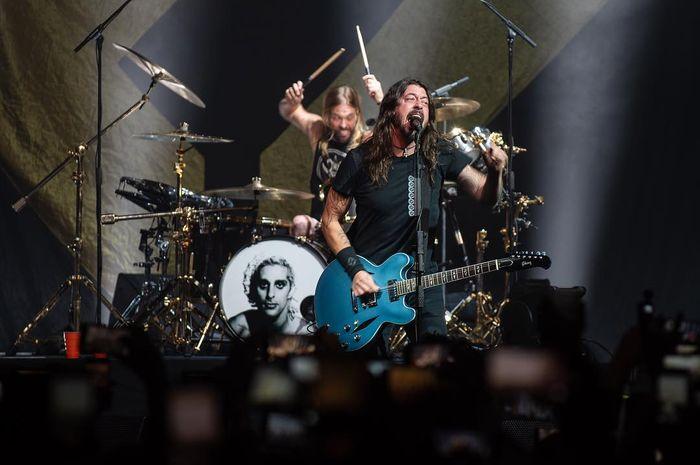 Dave Grohl dan Taylor Hawkins