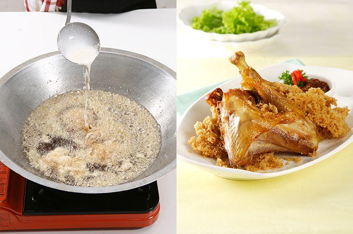 Tips Membuat Ayam Goreng Kremes Ala Restoran di Rumah