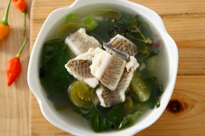 Sup Ikan Gurame Tomat Hijau