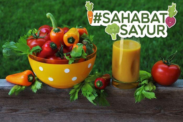 #SahabatSayur pasti tak percaya, minum sayuran