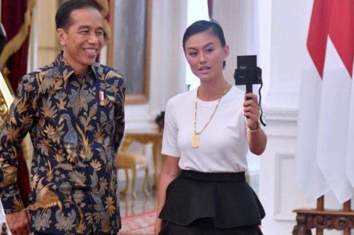 Agnez Mo dan Jokowi
