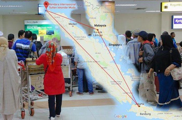 Heboh Harga Tiket Pesawat Domestik Mahal Warga Aceh Bikin Paspor Untuk Pergi Ke Jakarta Semua Halaman Grid Id