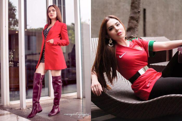 Inspirasi padu padan over the knee boots ala Sally Adelia, anggota Girls Squad yang super modis!