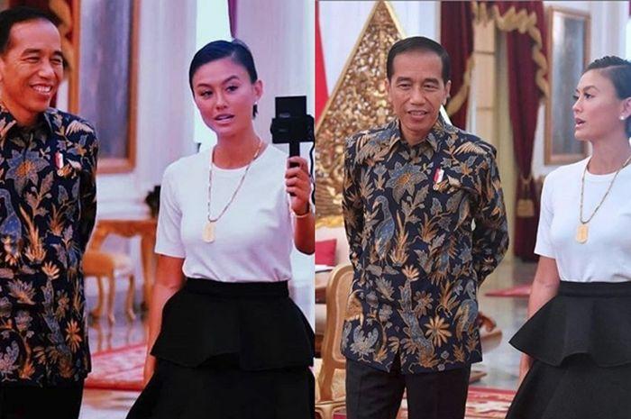 Nggak Cuma Agnez Mo, 6 Selebriti ini Juga Dapat Kesempatan Ngevlog Bareng Presiden Jokowi