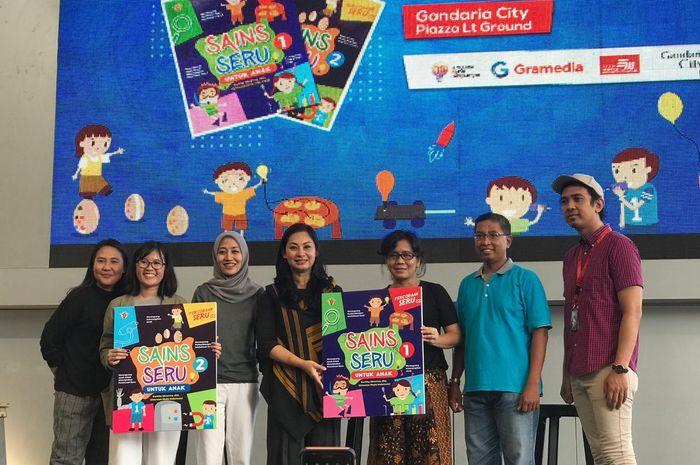 Peluncuran Buku Sains Seru untuk Anak