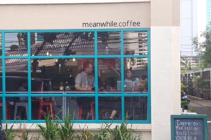 Tampak depan Meanwhile Coffee
