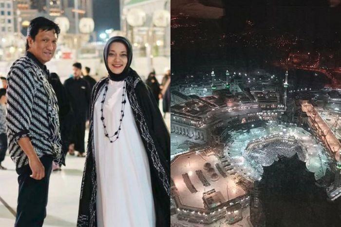 Umroh Termewah, Jendela Hotel Ikang Fawzi dan Marissa Haque Langsung Menghadap Kakbah!
