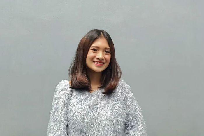 Vinessa Inez ditemui Grid.ID di kawasan Tendean, Mampang Prapatan, Senin (14/1/2019). (Siti Sarah Nurhayati/Grid.ID)