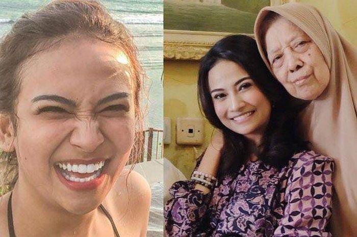 Rosindah, nenek Vanessa Angel membantah sang cucu yang berprofesi sebagai artis sebagai tulang punggung keluarga.