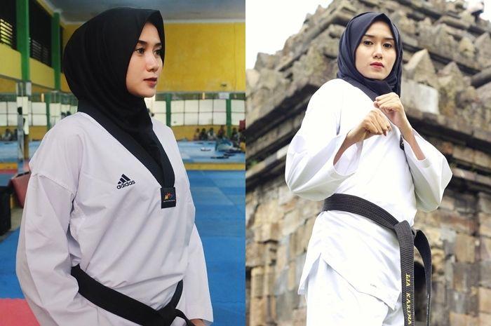 Tips Merawat Kulit Sebelum dan Sesudah Olahraga dari Lia Karina, Atlet Taekwondo Indonesia