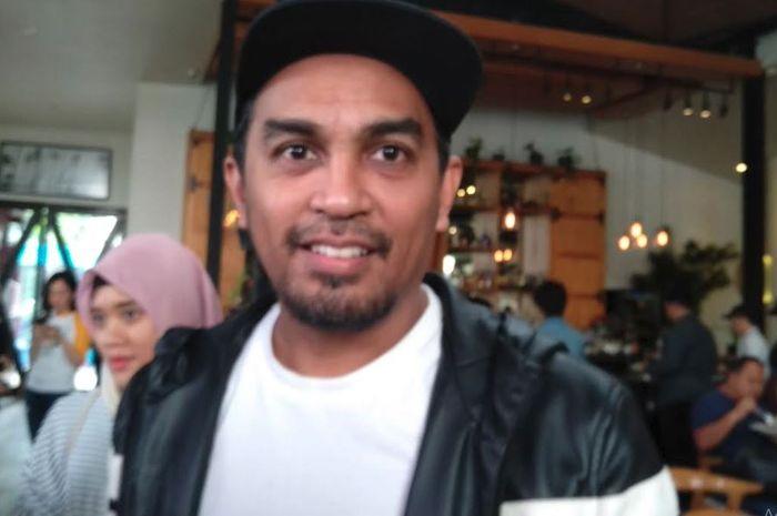Gleen Fredly di kawasan Kemang, Jakarta Selatan, Senin (14/1/2019),