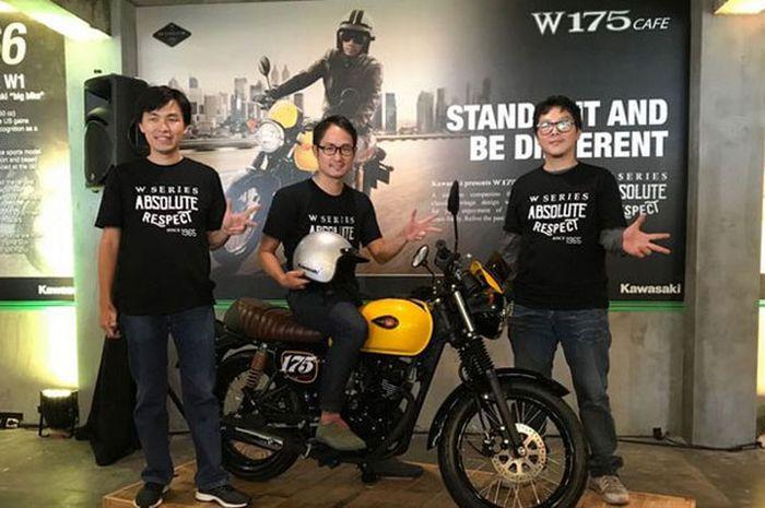 Varian anyar Kawasaki W175 Cafe