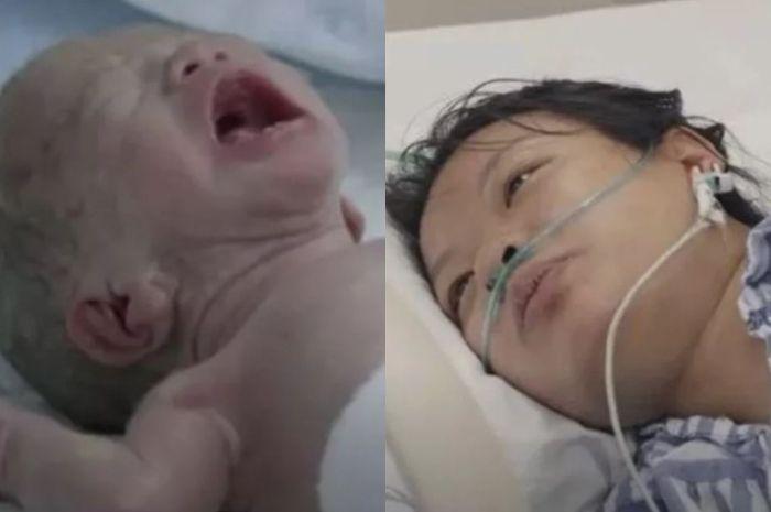 Wu Ying meninggal setelah melahirkan.