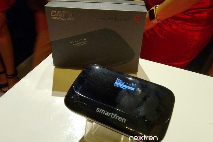 Smartfren Rilis MiFi Baru, Kecepatan Internetnya Dua Kali 4G