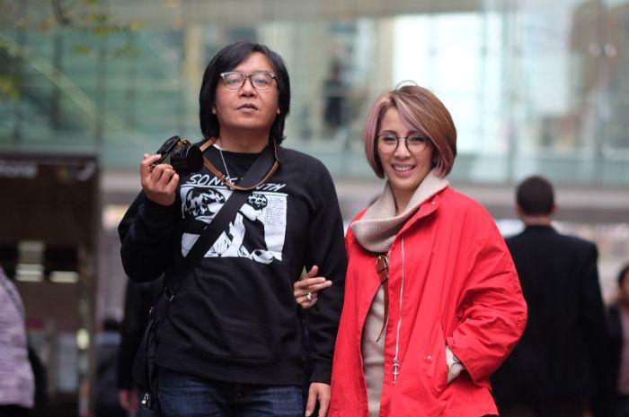 Ari Lasso dan istrinya, Vita Dessy.