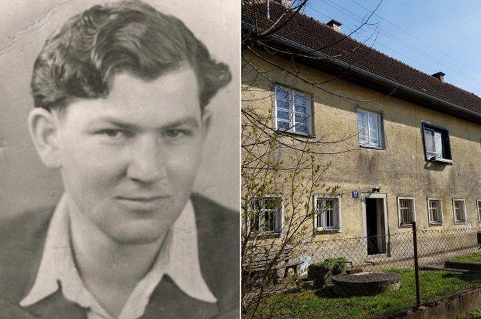 Dave Hersch dan tempat persembunyiannya di akhir Perang Dunia II.