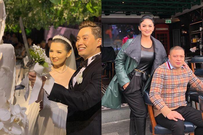 Penampilan cantik Krisdayanti di pernikahan Edric Tjandra, tak kalah dari pengantin