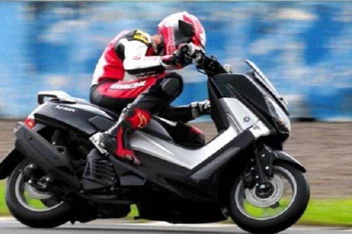 Ilustrasi Test ride Yamaha NMAX