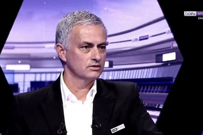 Pelatih asal Portugal, Jose Mourinho, menjalani wawancara dengan beIN SPORTS.