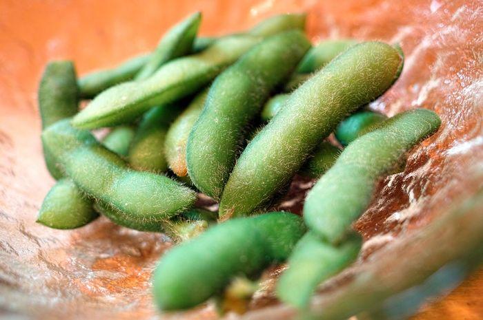 Edamame, kacang yang kaya manfaat