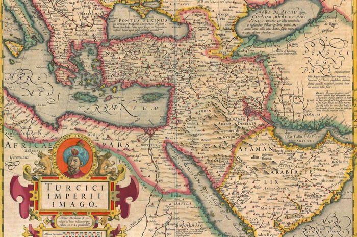Peta antik Kekaisaran Ottoman