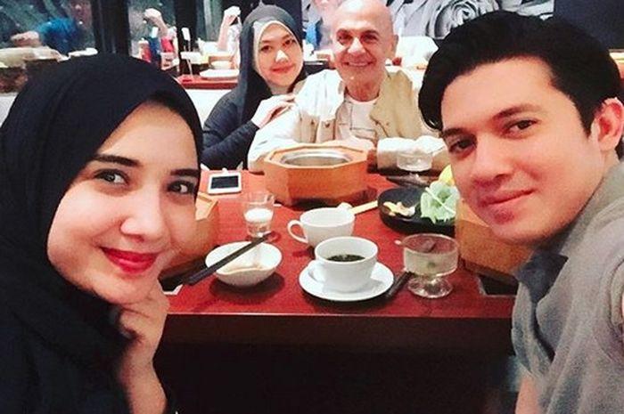 Mark Sungkar Singgung Soal Momongan di Perayaan 8 Tahun Pernikahan Zaskia Sungkar dan Irwansyah