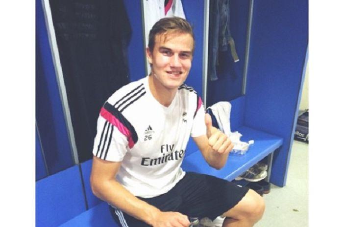 Eks pemain Real Madrid, Eero MarkKanen yang kini menjadi pemain PSM Makassar.