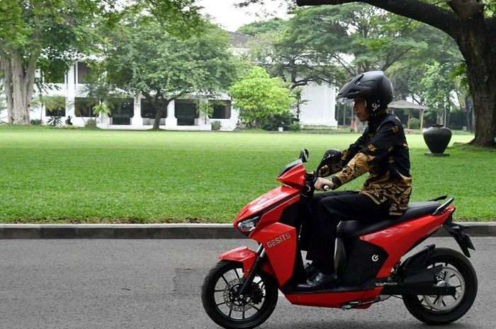 Gesits Wuih Punya 3 Riding Mode