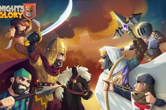 Review Knights & Glory, Bangun Pasukan Perangmu!