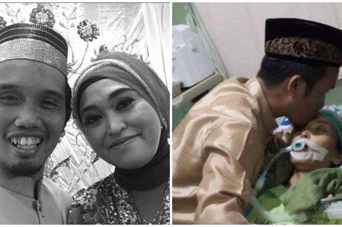 Ustaz Nur Maulana dan Istri Nuraliyah Ibnu Hajar atau Hajjah Aliah Maulana.