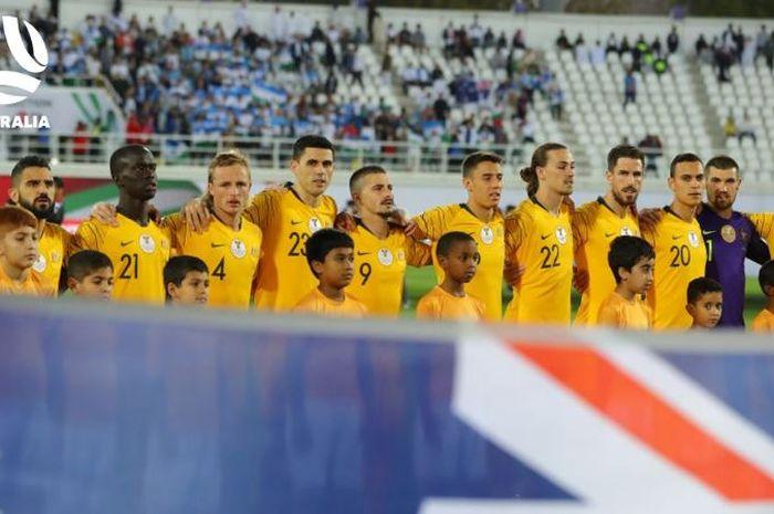 Timnas Australia lolos ke perempat final Piala Asia 2019 setelah menang adu penalti atas Uzbekistan
