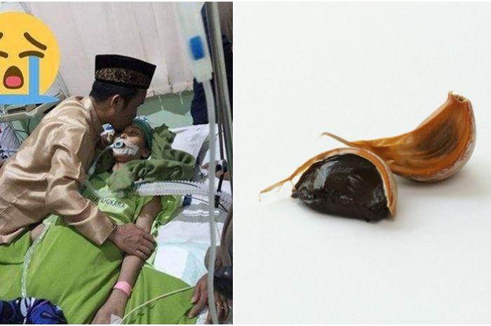 Istri Ustaz Maulana meninggal karena kanker usus, ini khasiat bawang hitam