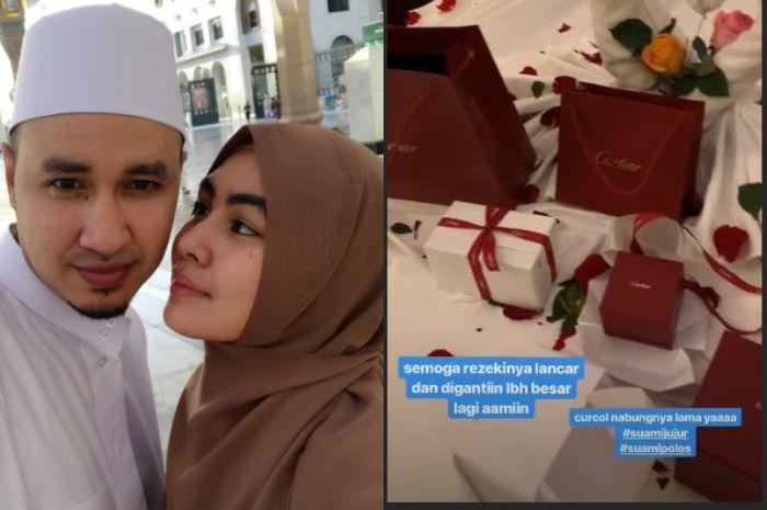 Kartika Putri dihujani kado mewah nan romantis dari Habib Usman bin Yahya di hari ulang tahun dirinya yang ke-28 (20/1/2019).
