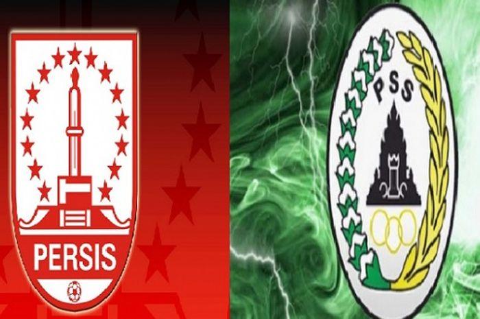 Logo Persis Solo dan PSS Sleman