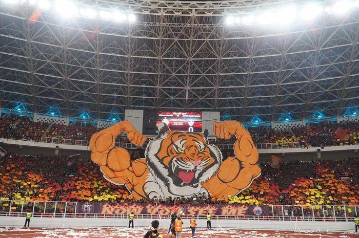 Aksi koreo The Jak Mania masuk dalam suporter paling fenomenal sepanjang 2018 versi media asing Copa