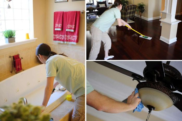 Membersihkan rumah tak perlu waktu lama.