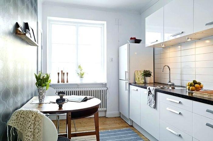 Layout dapur disesuaikan menurut kebiasaan setiap keluarga.