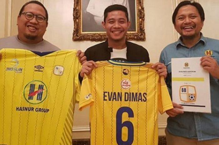 Evan Dimas dan Barito Putra