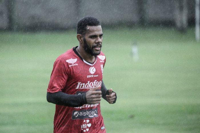 Pemain sayap Bali United, Yabes Roni Malaifani.